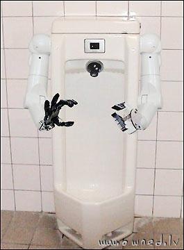 Hi-tech toilet