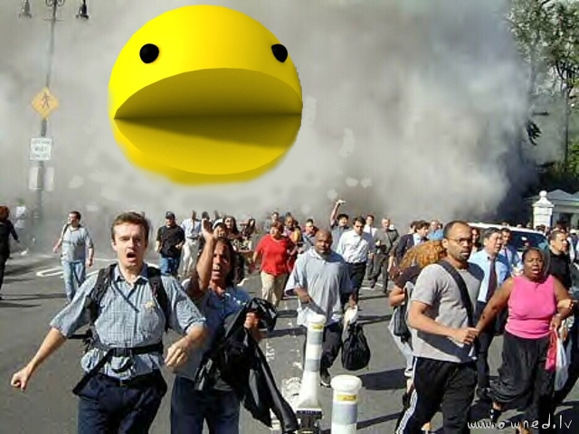 Pacman goes mad