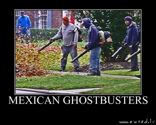 Mexican ghostbusters