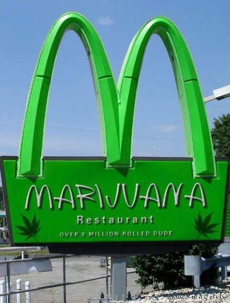 Marijuana restaurant